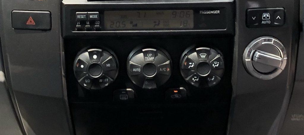 ハイラックスサーフ215系エアコンパネル