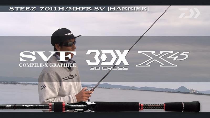 スティーズ7011H/MHFB-SV 17ハリアー3DX X45