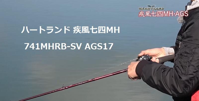 ダイワ ハートランド疾風七四 741MHRB-SV AGS17