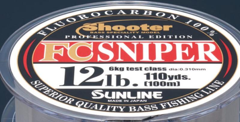 FCスナイパー、12lb 直径0.310mm
