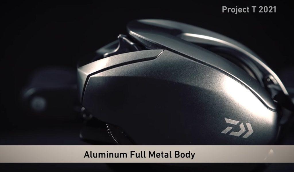 アルミニウムフルメタルボディー