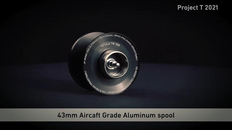 TATULA TW 300/400 43mmスプール