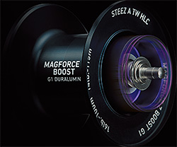 MAGFORCE-Zの遠投性能を極限まで引き出したBOOST SYSTEM