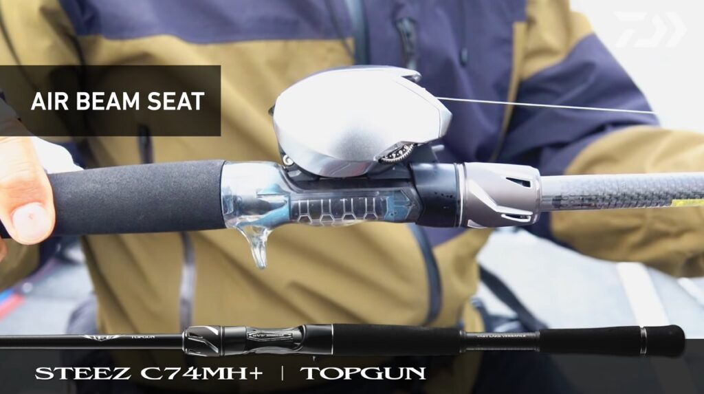 21スティーズ C74MH+ トップガン エアセンサーシート